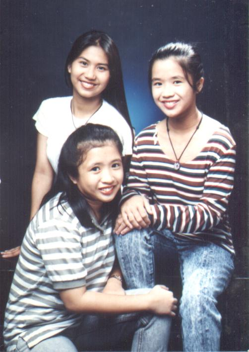 Erda, me and Joy - 1995