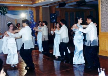 "Our finale - reggae dancing to the Beach Boys' ""Kokomo"""