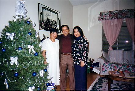Mom, Dad, me