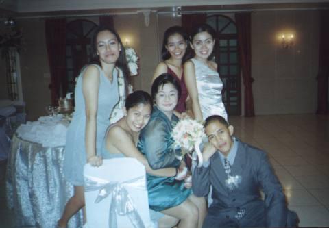 Grace, Jen, JP, Veron, me, and Julius