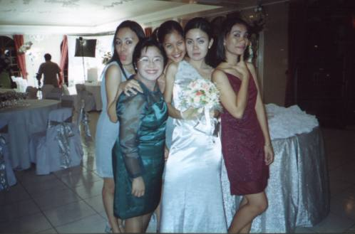 Grace, me, Veron, JP, and Jen