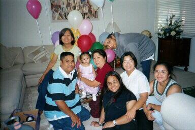 At Natnat 1st birthday party
